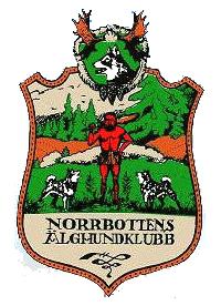 Norrbottens Älghundklubb - logo färg